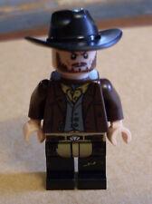 Lego The Lone Ranger - Frank Figur Western Cowboy Bandit Franck braun Neu