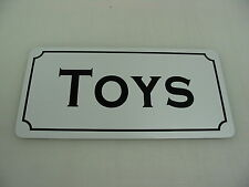 TOYS Vintage Style Metal Tin Sign 4 Collector General Store Shop