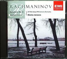 Mariss JANSONS: RACHMANINOV Symphony No.3 Symphonic Dances CD EMI Sinfonie