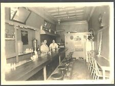 Cabinet Photo of a Lunch Counter 1930 ~ Possibly Oklahoma City OK