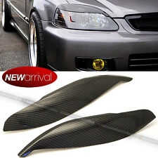 For 96 97 98 Civic Carbon Painted Headlight Cover Eyelid Eyelid Eye Lid Brow