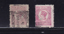New Zealand 1/2 p rose Newspaper Stamps
