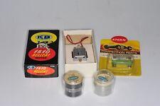 37345 SLOT CAR K&B / COX Reifen, Motor, Widerstand