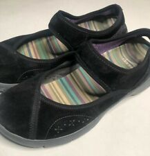Dansko Mary Jane Shoes sz 39/ 8.5 US Emmy Black Suede   Comfort Sport
