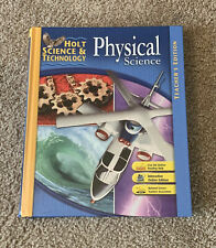 Holt Science and Technology Physical Science Teacher's Edition