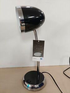 Retro Black & Silver Desk Lamp New  D4