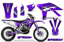 YAMAHA WR450F 2012-2013-2014 GRAPHICS KIT CREATORX DECALS SPEEDX BPR