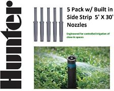 "5 Hunter PS02-5SS 2"" Pop-Up Spray Head Sprinkler 5' X 30' Side Strip"