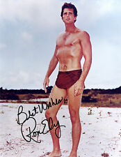 REPRINT - RON ELY #SN2 Tarzan autographed signed photo copy
