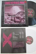 X MARKS THE PEDWALK: Freaks LP 1991 Zoth Ommog, Dark electro goth, rare on vinyl