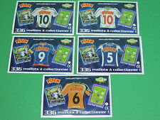 Magnet equipe Coupe de France Just Foot Pitch 2009 maillot football CDF lot #35