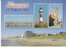 Nieuwpoort Various Views Belgium Postcard used VGC