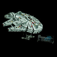 Custom Display Stand & UCS PLAQUE for LEGO 75105 MILLENNIUM FALCON