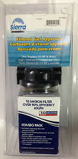 Sierra Outboard Fuel Water Separator Filter kit 18-79651 10 micron up to 115HP