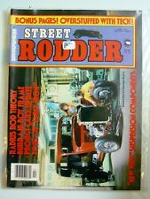 Street Rodder April 1981 - Build A Hi-Boy Frame, Radius Rod Theory - New Wave