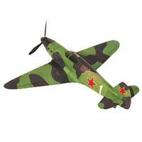 1:35 Soviet Yak-1 Fighter DIY 3D Paper Card Model Building Kits Toys BJ U_X