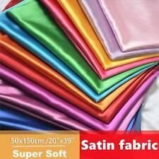 "Silk Satin Lining Luxury Wedding Dress Plain Material Fabric - 20""x59"""