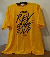 Michigan Revenge Tour T-Shirt 3Xl, Yellow