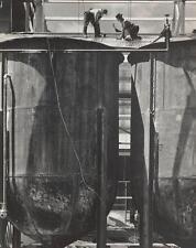 "Max Yavno "" Storage Tanks "" San Francisco 1947 Gelatin Silver Photograph 14 x 11"