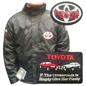 Toyota Twin cam 16v Jacket Embroidered Regatta Motorsport TRD REGATTA JACKET