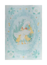 DUCKY TALES FABRIC PANEL - COT, CRIB, PLAY MAT 100% cotton