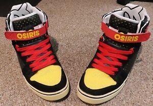 Osiris Rhyme Remix 2009 Reto Rare Vintage Size 11US