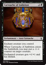 4x Cartouche of Ambition (Kartusche des Ehrgeizes) Amonkhet Magic