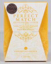 Lechat Perfect Match UV/LED gel & Polish GOLDEN Boyfriend 2x15ml EFFETTO SMALTO z20-4