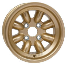 Revolution 8 Spoke Rally Alloy Wheel 8 x 13 - ET-12 Gold Group4 Fitting Escort