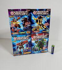 Transformers KABAYA ADVENTURE MISB SET of 4 CASE FRESH Model Kits Robots Japan!!