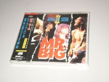 MR. BIG - RAW LIKE SUSHI II - MADE IN JAPAN 1992 ATLANTIC RECORDINGS W/OBI - DP