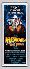 HOWARD THE DUCK - movie poster - WIDE FRIDGE MAGNET - George Lucas 80's CLASSIC!