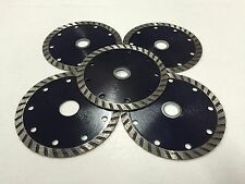 5-pack 4.5 inch diamond blade for cutting tile,stone and masonry materials