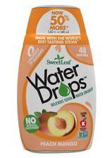 SweetLeaf Stevia Peach Mango Water Drops 48ml