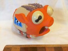 DISNEY MONSTERS UNIVERSITY SQUEALING MASCOT ARCHIE PIG FOOTBALL SQUEEZE TOY EXC!