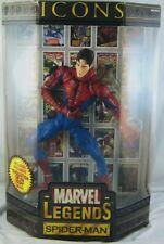 Marvel Legends ICONS SPIDER-MAN 12? Figure Toy Biz 2006 Peter Parker UNMASKED
