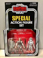 Star Wars Vintage Collection Target Imperial Commander Dengar AT-AT Driver Set!