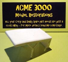 Dinky 106 Le prisonnier Mini Moke-Remplacement Repro plastique blanc couvert