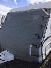Caravan Front Towing Cover Universal Size FREE LED Lights/Buckle Guards/Mesh Bag