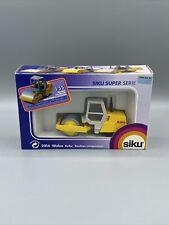 Siku 2014 Walze Roller Super Serie Diecast Road Roller Construction 1/55 Rare