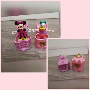 Pop Up Figuren Disney MC Donalds 1996 Daisy Duck & Minnie Mouse Rarität Vintage