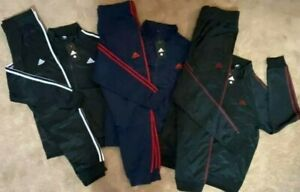 adidas WOMEN Tracksuit Black Authentic 2 Piece Jacket & Pants New Sz S-3XL