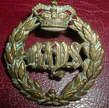CAP BADGES-ORIGINAL BOER WAR VICTORIAN CROWN QVC 2nd DRAGOON GUARDS QUEENS BAYS