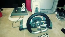 XBOX 360 racing wheel pedal and adjustable mount