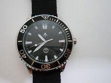 Time Arrow Watch Co. Submariner, military, Miyota movement, white hand