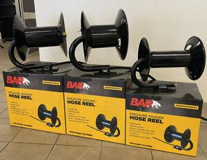 """Jetter Hose Crank Rapid Reel High Pressure washer 5000psi 60m 3/8"""" Hose Reel"""
