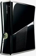 Microsoft Xbox 360 Slim 250 Gb Hard Drive Gloss Black Console Only Tested Works
