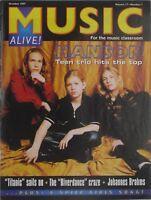 HANSON October 1997 MUSIC ALIVE! Magazine