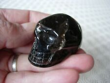 crystal skull dark smokey quartz, not irradiated