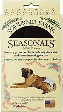 Ya-Zoo Dezigns Seasonals Washable Dog Diaper XL Brown 95 - 120 Pounds